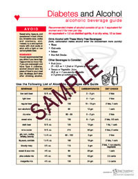 Diabetes Food Flash Carbohydrate Counting Book