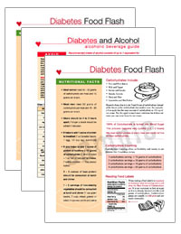 Choose any Three (3) from CD #1, Diabetes Nutrition ToolKit for RD\'s & CDE\'s